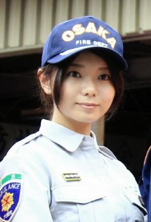 消防隊員の森カンナ